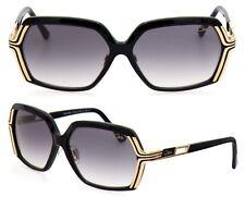 Cazal Damen Sonnenbrille MOD.8020/1 COL.001 59mm schwarz gold F AB1 1