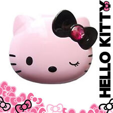 [HELLO KITTY] Diamond Bow False Eyelash Holder Pill Case Cosmetic Box SANRIO