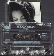 MACY GRAY STILL CASSETTE single 2 TRACK Hip Hop RnB/Swing Epic 668982 4  UK 2000