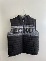 Mens Ecko Unltd Hooded Puffer Vest sz XL New NWT