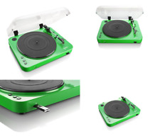 Lenco L-85 Turntable Vinyl Player With USB Direct Recording 33rpm & 45rpm Green