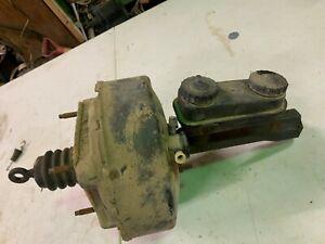 1982 Dodge Rampage master cylinder, brake booster