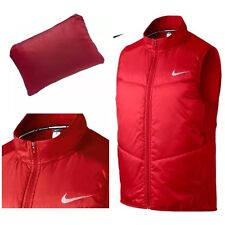 Nike Men´s Running Polyfill Vest Packable Red 689475-658 Size - Small
