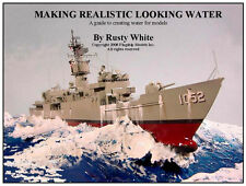 """HOW TO MODELING CD  """"Creating Realistic Water"""" by Rusty White (8 pages)"""
