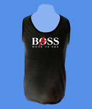 Unterhemd Herr Tanktop Männer Trägershirt Bass Boss Musik S L XL schwarz