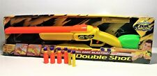 BUZZ BEE TOYS AIR BLASTERS | DOUBLE SHOT | SHOT GUN | COMPLETE WITH BOX! NERF