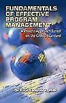 Fundamentals of Effective Program Management: A Process Approach Based on the Gl