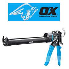 NEW OX Heavy Duty 400ml Cartridge Sealant Caulking Silicone Mastic Gun P044440