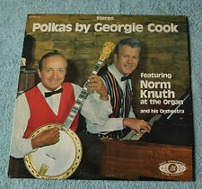 """Polkas By George Cook & Orchestra / 1974 Delta International Records 12""""LP"""