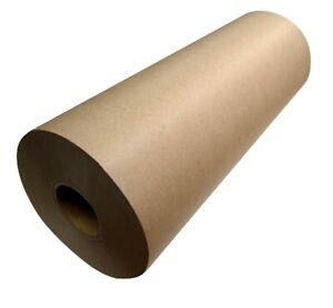 Brown Packaging Kraft Paper Roll 600mm x 50/200m Pick Desired Length