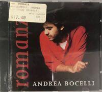 Andrea Bocelli - Romanza (CD 1996 Phillips Bonus Track) Brand NEW