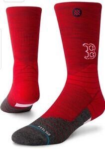 Stance Diamond Pro MLB Boston Red Sox Tonal Crew Feel 360 Men's Medium 6-8.5