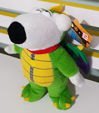 BRIAN FROM FAMILY GUY DRESSED AS A GREEN DRAGON PLUSH TOY WITH TAGS 26CM TALL