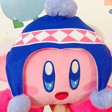 Cute Pupupu Illumination  Kirby Plush Doll Winter Chirstmas hat cap Japan 30cm