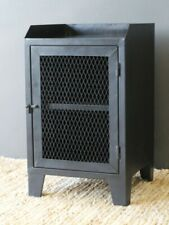 INDUSTRIAL SIDE CABINET BLACK