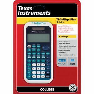 calculatrice TI-Collège Plus Solaire