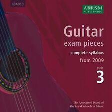 Guitar Exam Pieces from 2009 Gr 3 (CD); ABRSM, CDs, FMW - 9781860969522