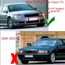 Front Grills Bumper Fog Lights Cover Lamp Frame Trim For Audi A8 D3 2006-2008