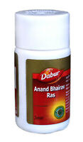 Dabur Anand Bhairav Ras an Ayurvedic Remedies for Cold etc. - 40 Tablets Pack