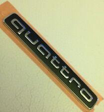 """Original Audi Quattro """"quattro"""" Schriftzug Emblem A3 / A4 / A5 / A6 / A7 / TT Q5"""