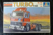 Italeri 759 Renault Turbo R360 Model Truck Kit 1/24 Scale