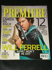 PREMIERE magazine 2007, Will Ferrell, Orlando Bloom, Tom Cruise, Amber Tamblyn