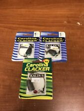 Lot Of 3 Kalin's Carolina Clacker 1/2 Oz and 3/4 Oz