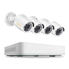 8 Channel H.265+ 1080P DVR 2MP Wired Security Camera System Outdoor Day Night