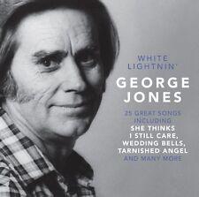 CD GEORGE JONES WHITE LIGHNIN' WEDDING BELLS TARNISHED ANGEL SHE THINKS I STILL