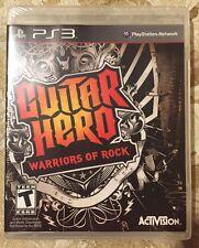 Guitar Hero Warriors of Rock PS3 NOS!