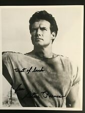 """STEVE REEVES 8 x 10"""" Autographed Photo"""