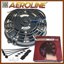 """7 """" Aeroline Radiatore Elettrico/Intercooler 12v Slim Ventola di Raffreddamento+"""