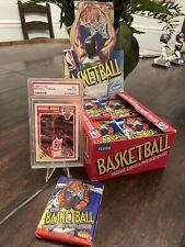 (1) 1989 Fleer Basketball UNOPENED WAX PACK ~ Possible Michael Jordan Card