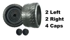 Power Wheels N1475 Barbie Cadillac Escalade EXT 4 Tires 2 Left & 2 Right GENUINE