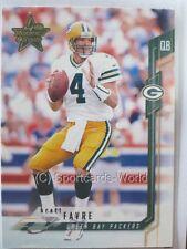 Brett Favre - 2001 Leaf Rookies & Stars #5 - Green Bay Packers Playercard