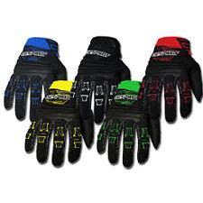 Jet Pilot Full Finger Glove Neoprene Glove Adjustable Closure Many Colors