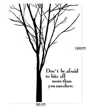 Huge Tree Branch wall stickers wall quotes Decal Removable Home Kids Nursery Au