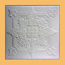 100 pc (269 sq.ft lot of NOVARA White Decorative Ceiling Tile - ON SALE