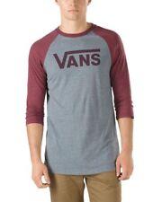 VANS Cotton T-Shirts for Men Raglan