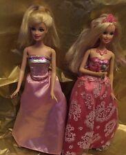 Barbie Princesse poupées Rockstar et Popstar Fairytale Transforming musical poupées