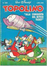 TOPOLINO N° 1895  - 22 MARZO 1992
