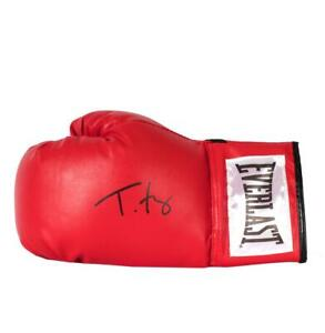 Tyson Fury Signed Red Everlast Boxing Glove Autograph