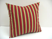 "18"" Pillow Cover - Handmade Item - Former Longaberger Holiday Stripe Fabric"