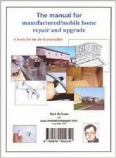 Manual for Manufactured Mobile Home Repair & Upgrade trailer Do It Yourself DIY