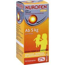 NUROFEN Junior Jus de fièvre Orange 2% 150 ml PZN6789425