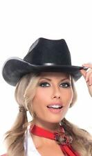 Cowgirl Hat with Band Cowboy Old West Sheriff Country Rancher Costume BW972