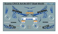 H0/1:87 DIS 0517 SCANIA CS CR  Fahrerhausdekor Decals für Zugmaschinen