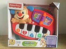 "Fisher~Price ""Laugh&Learn"" Puppy's Piano - NEW in Original Packaging"