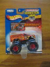 Hot Wheels Monster Jam 1/64 Backdraft monster truck w Free ship!
