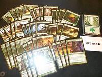60 Card Deck - MONO GREEN WEREWOLF - Ready to Play - Rare cards - Magic MTG FTG